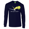 Classic Long Sleeve (Navy Blue)