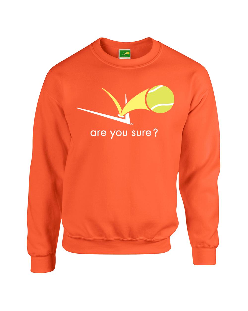 Are You Sure? | Tennis Apparel » Men's Sweatshirts