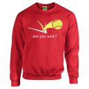 Classic Sweat Shirt - Red
