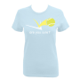 Fitted Tee - Light Blue