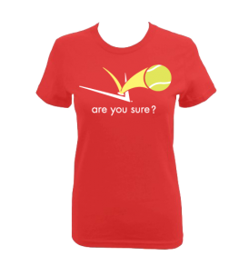 Fitted Tee - (Overhead Red)