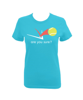 Fitted Tee - (Turquoise)