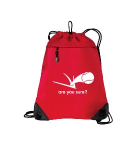 Cinch Pack - Overhead Red