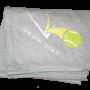 Sweatshirt Blanket - Rain Delay Gray (with yellow & white logo)