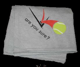 Sweatshirt Blanket - Rain Delay Gray (with red & black logo)