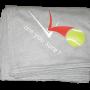 Sweatshirt Blanket - Rain Delay Gray (with red & white logo)