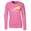 Fitted Longe Sleeve - Match Point Pink